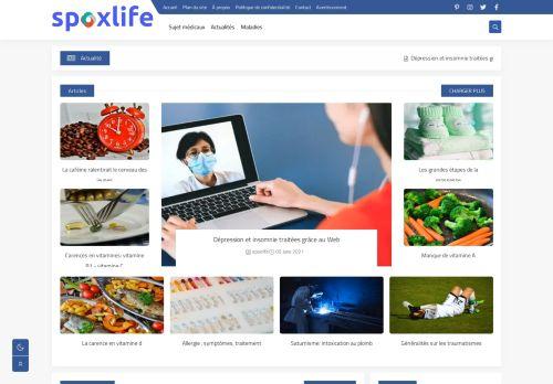 لقطة شاشة لموقع spoxlife بتاريخ 09/06/2021 بواسطة دليل مواقع كريم جمال