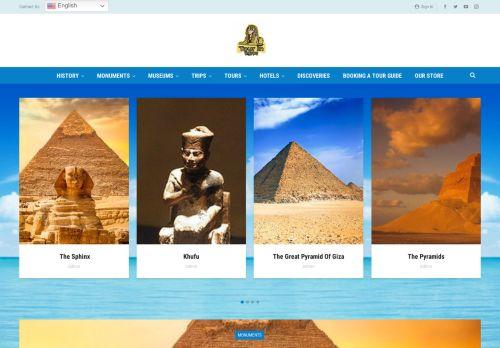 لقطة شاشة لموقع Tour in egypt بتاريخ 22/09/2021 بواسطة دليل مواقع كريم جمال