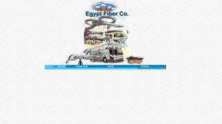 لقطة شاشة لموقع egyptfibre بتاريخ 11/12/2019 بواسطة دليل مواقع كريم جمال