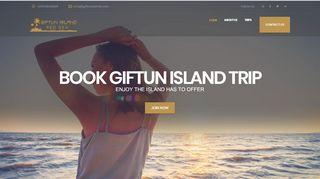 لقطة شاشة لموقع جزيرة الجفتون Giftun Island بتاريخ 31/12/2019 بواسطة دليل مواقع كريم جمال