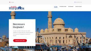 لقطة شاشة لموقع Guide De Hurghada بتاريخ 07/01/2020 بواسطة دليل مواقع كريم جمال