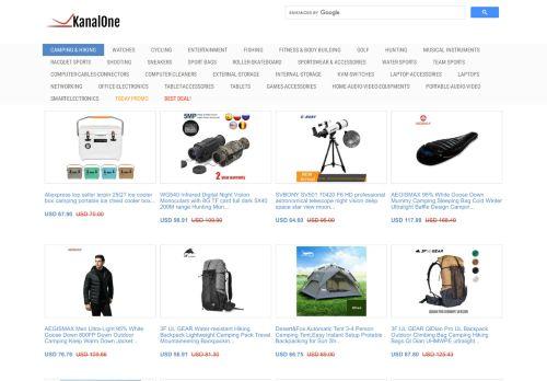لقطة شاشة لموقع kanalone بتاريخ 22/09/2020 بواسطة دليل مواقع كريم جمال
